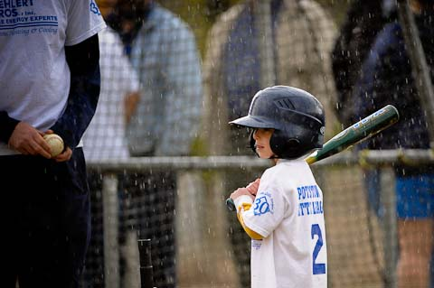 A little rain... (Tee Ball)